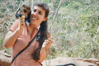 Наталья выкладывает фотографии африканской флоры и фауны.