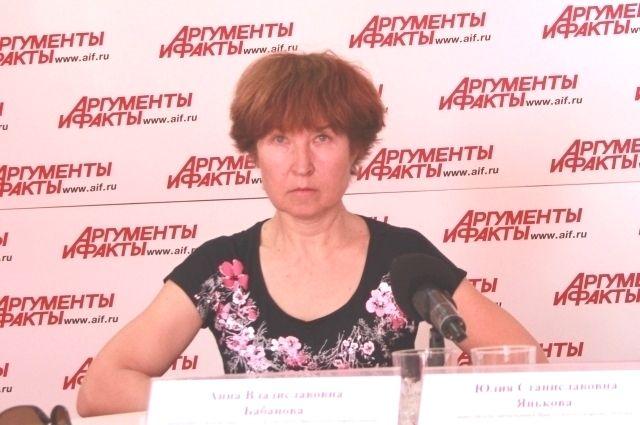 Анна Бабнова.