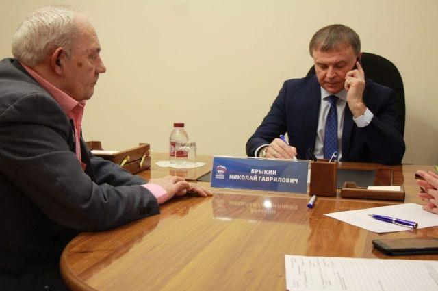 Работа депутата Николая Брыкина отличается высокой эффективностью