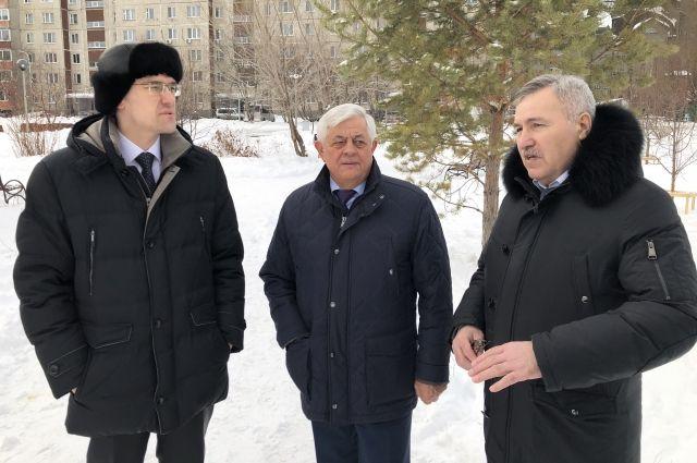 Павел Качкаев оценил благоустройство тюменских дворов