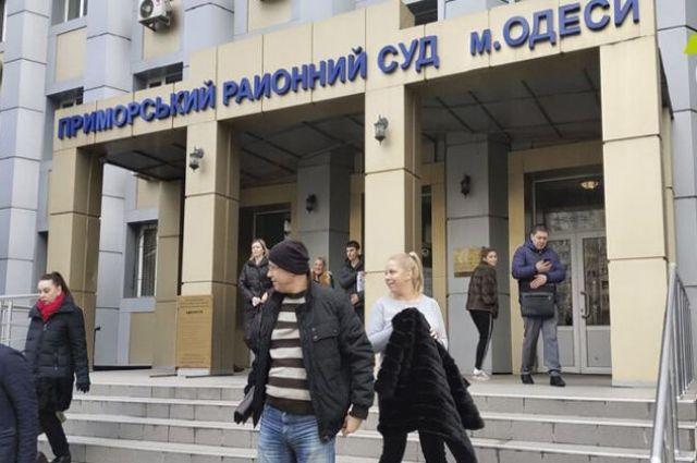 В Одессе подсудимый с гранатой взял в заложники судей