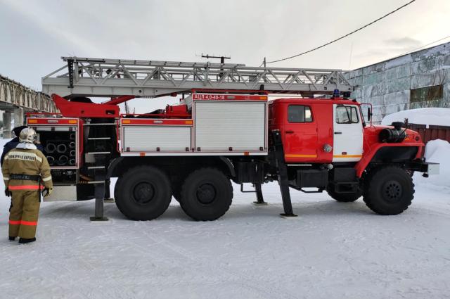 Пожарная часть поселка Харп получила новую технику