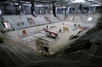 Строительство Регионального центра волейбола в Новосибирске вышло на финишную прямую, объект готов на 75%.