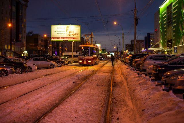 По мнению высказавшихся новосибирцев, трамвайная транспортная сеть уже устарела и трамваи часто ездят пустые, без пассажиров.