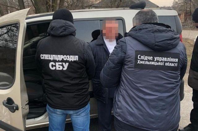 В Хмельницкой области главу ОТО задержали на взятке