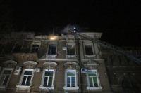 В Одессе во время пожара пострадала девушка