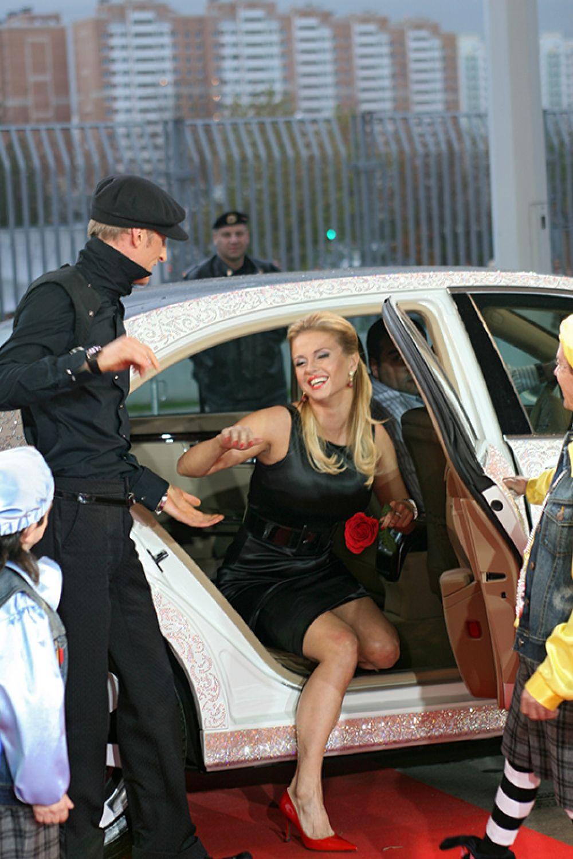 Анна Семенович и Павел Воля на премии Муз-ТВ, 2007 год.