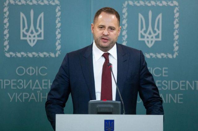 Глава ОП Ермак и Козак обсудили в Минске обмен удерживаемыми лицами