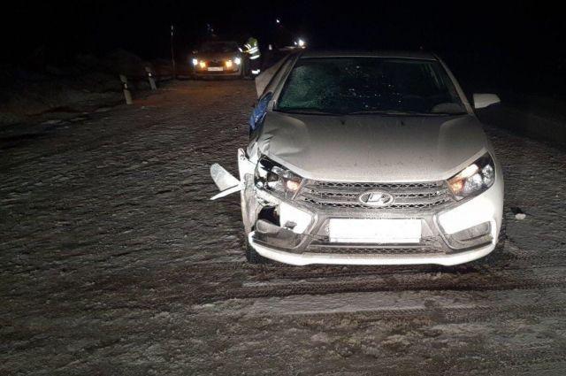 Пострадавший скончался на месте ДТП до приезда скорой помощи.