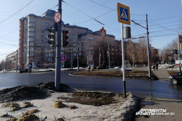 В Оренбурге восстановлена работа светофоров в центре города.