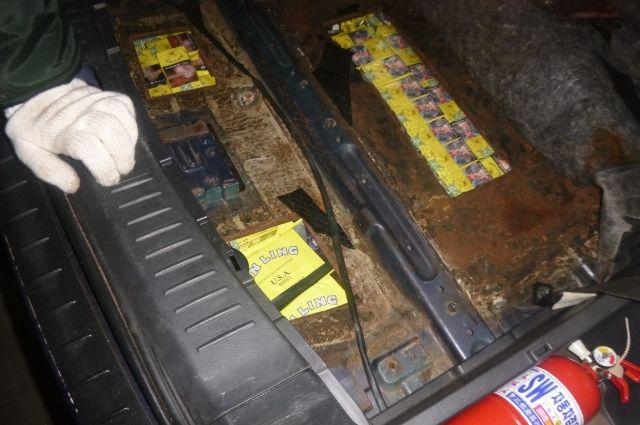 В Советске таможенники пресекли незаконный вывоз сигарет
