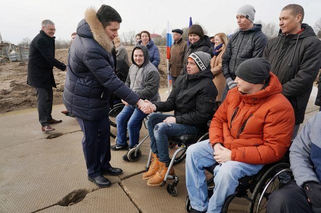 Под Калининградом началось строительство жилья для инвалидов