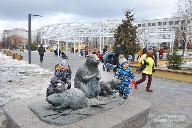 Уже сделано: появился «Парк света» вдоль Костромскойул.