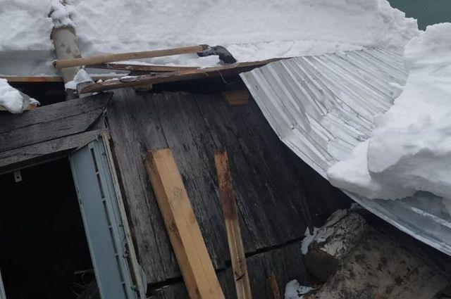 Инцидент произошел в частном секторе Дзержинского района.