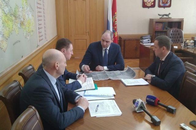 Денис Паслер провел совещание, посвященное состоянию дорог в Оренбурге