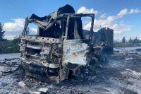 Последствия атаки турецкими ударными силами района Саракеб в Сирии.