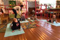Сейчас школу-сад посещают девять ребят: пятеро малышей ходят в садик, четверо – в школу.