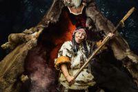 Представительница воинственного племени.