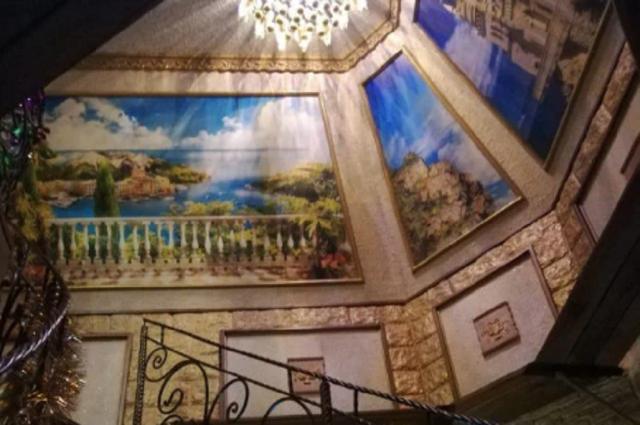 Потолок в картинах