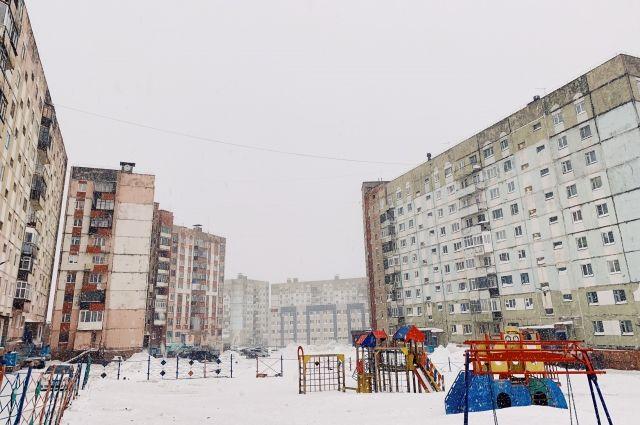 Экодвор появится на ул. Талнахской, 10-10а.
