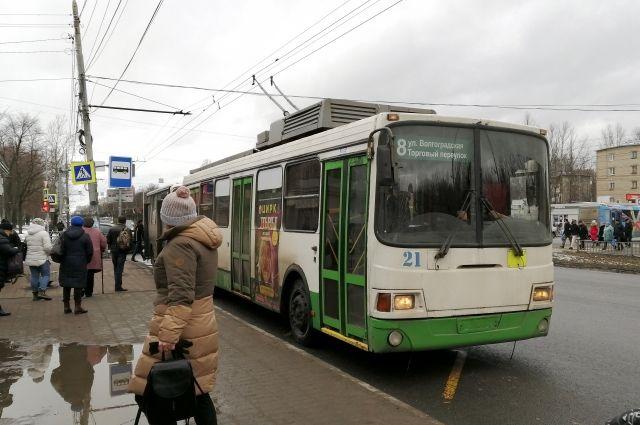 Троллейбус №8, соединяющий Брагино и центр города, хотят закрыть с 1 апреля.