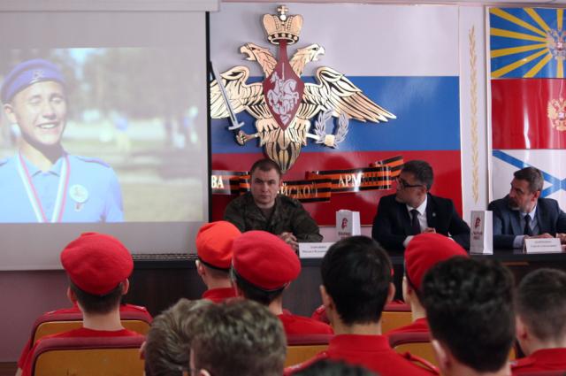 В ЯНАО состоялся первый региональный слет юнармейцев
