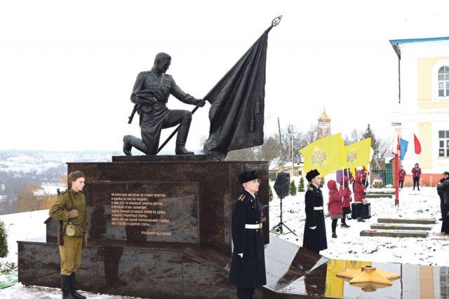 На жителей области и города памятник произвёл большое впечатление.