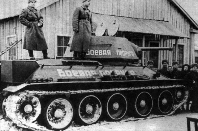 Танк «Боевая подруга» воевал до Победы, которую встретил в Кёнигсберге.