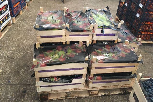 В Оренбурге специалисты Россельхознадзора изъяли 195 килограмм груш