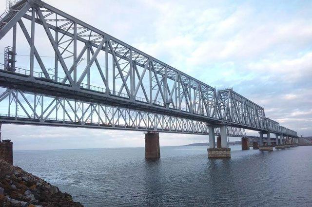Мост через дон, возводимый компанией Руслана Байсарова.