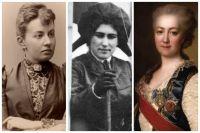 Софья Ковалевская, Евгения Шаховская и Екатерина Дашкова.