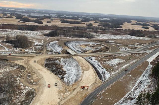 В 2019 г. на территории области отремонтировано 40 км федеральных дорог и три моста.