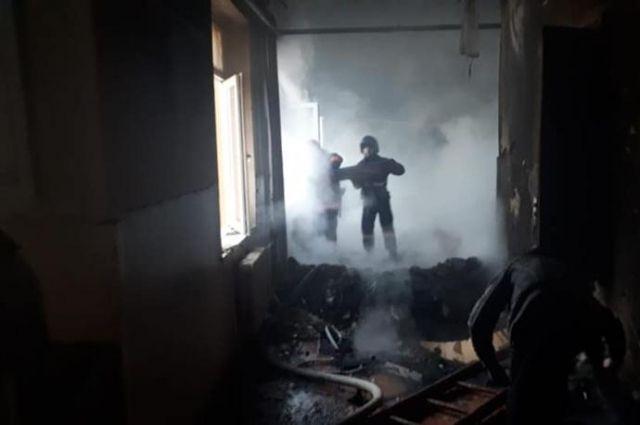 В Черновицкой области пожарные не успели спасти троих детей
