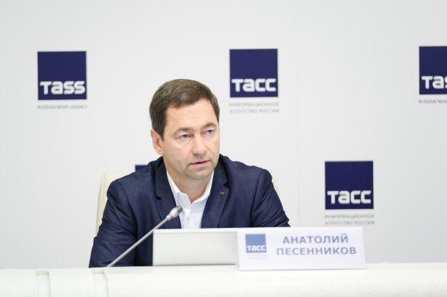 Заместитель председателя Северо-Западного банка Анатолий Песенников.