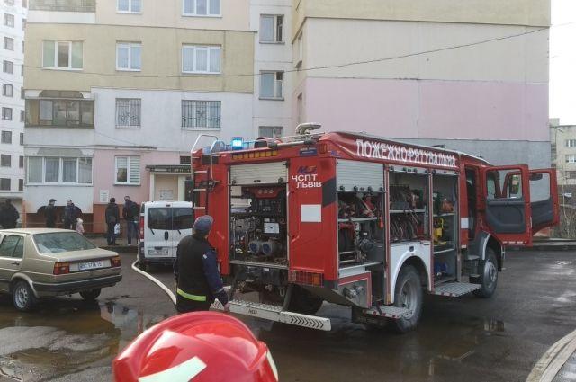 Во Львове во время пожара погиб мужчина