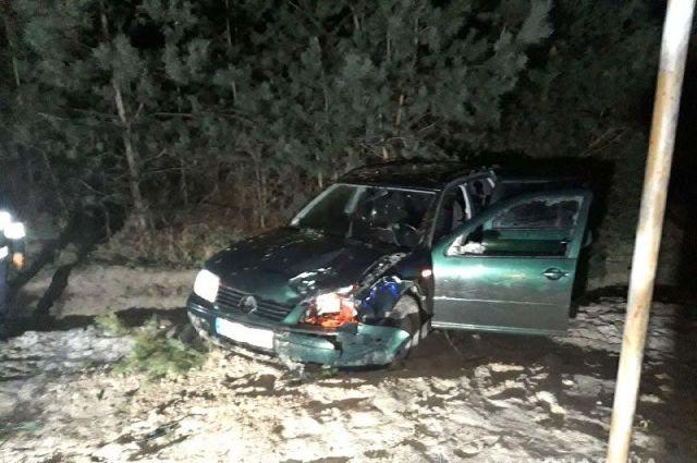 Под Ровно в ДТП с участием четырех автомобилей погиб человек