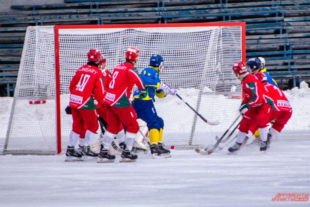 Однако к концу первого тайма – на 39 минуте матча – украинцы сравняли счёт.
