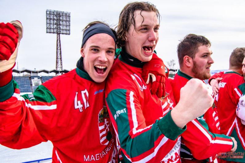 Венгрия впервые за всё время существования сборной стала победителем чемпионата мира по бенди среди команд группы В