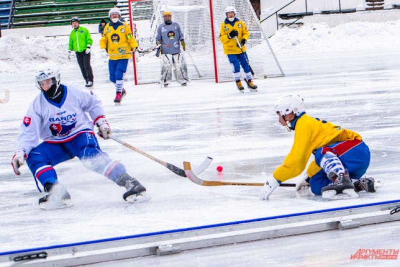 В 12:00 прошёл матч за бронзу между сборными Словакии и Монголии.