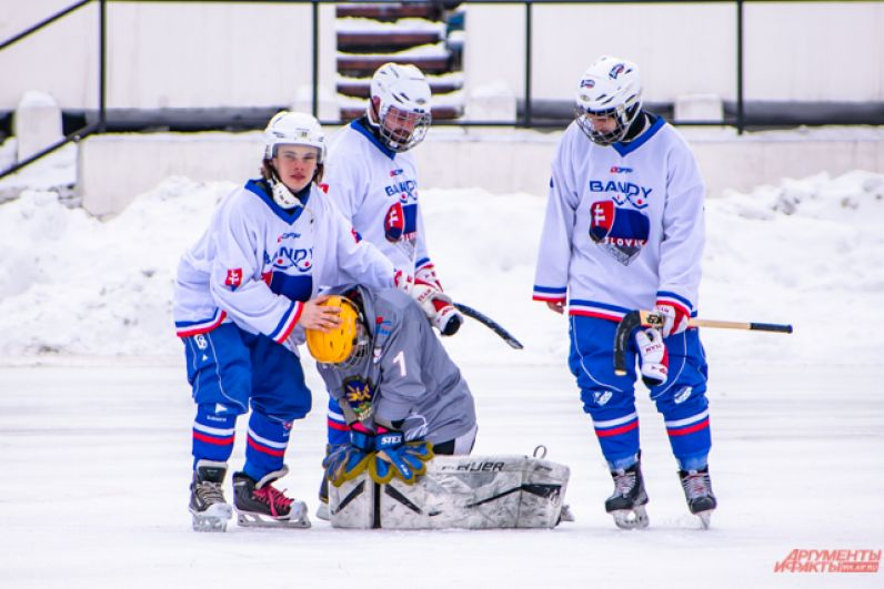 Тренер Словакии отметил хорошую игру монгольского вратаря.