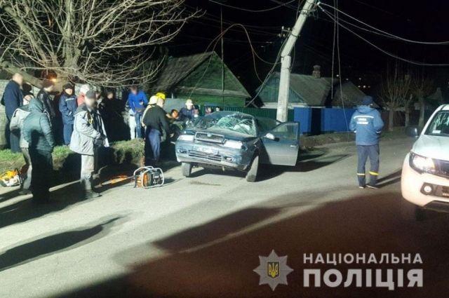 В Донецкой области произошло ДТП: травмированы двое подростков
