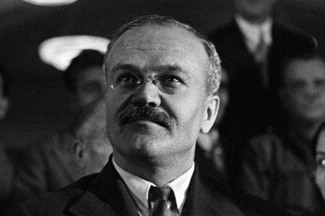 Вячеслав Молотов.
