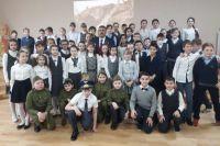 Школьники Тюменской области приняли участие в военно-патриотической акции