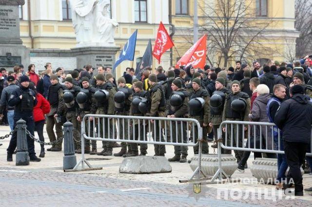 В центре Киева проходит Марш женщин