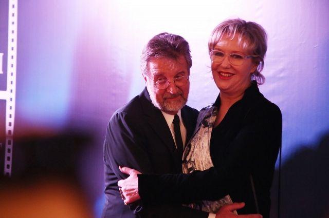 Ирина Розанова и Леонид Ярмольник на кинофестивале «Дух огня»