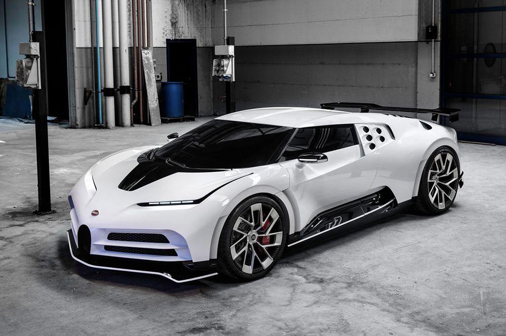 Bugatti Centodieci — 8 млн евро. На свой 110-летний юбилей, который Bugatti отмечала в 2019 году, компания представила модель «чентодиечи», что в переводе с итальянского означает «сто десять».  Машина стилизована под купе Bugatti EB110. Планируется выпустить всего 10 штук, все они уже заказаны.