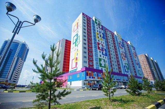 В Тюменской области сохраняются высокие темпы строительства и ввода жилья