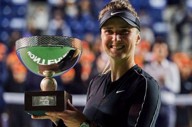 Свитолина выиграла свой первый турнир с 2018 года