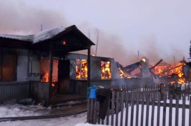 В Красноярском крае за неделю произошло 137 пожаров.