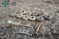 В Луганской области СБУ разоблачила два схрона со снарядами